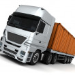 Freight container Delivery Vehicle — Stock Photo #9278702