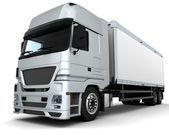 Vracht leveringsvoertuig — Stockfoto