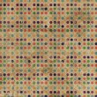 Grunge Polka Dots Background - 图库照片