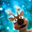 Christmas reindeer — Stock Photo