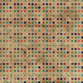 Grunge Polka Dots Background — Stock Photo
