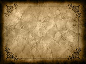 Grunge background with decorative border — Foto Stock