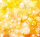 Glittery gold lights background — Stock Photo