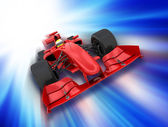 Formel 1 auto — Stockfoto