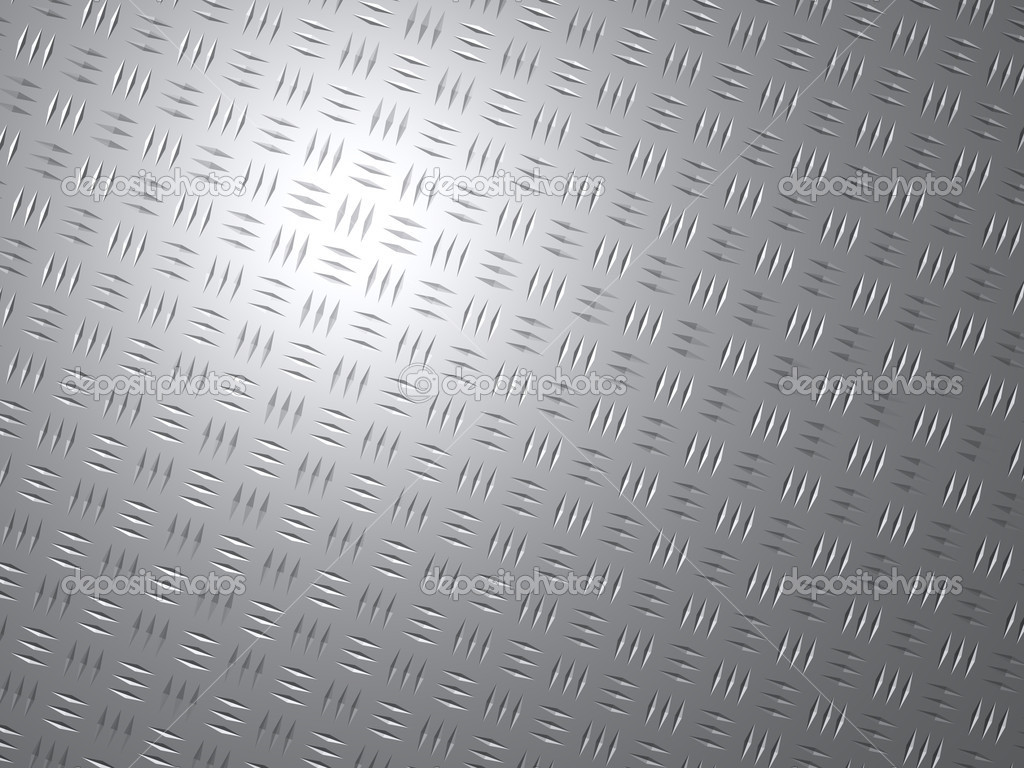 Abstract background of a shiny metal plate  Stock Photo #9310429