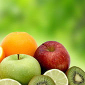 Fresh fruit — Foto de Stock