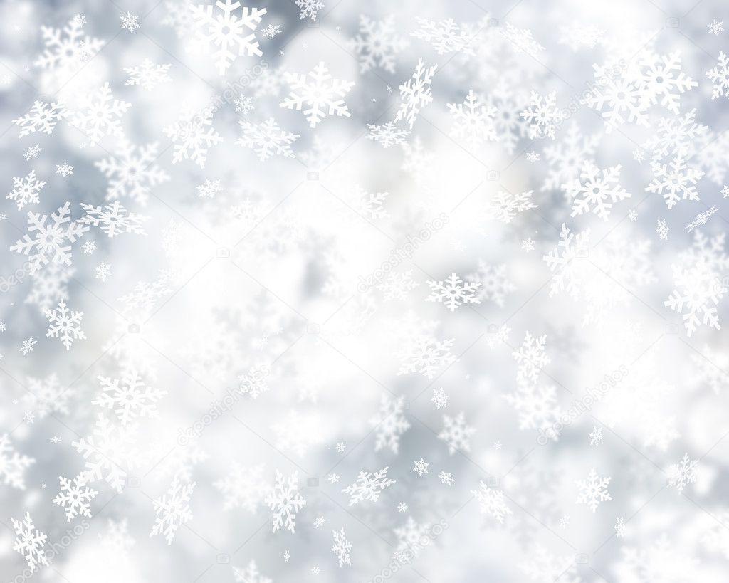 真实雪花手机壁纸