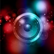 Abstract speaker background — Stock Photo