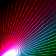 Abstract starbust effect background — Stock Photo