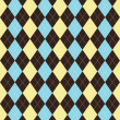 Постер, плакат: Argyle patterned background