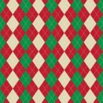 ������, ������: Christmas argyle pattern