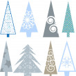 Christmas trees — Foto de Stock