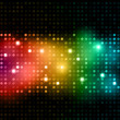 Disco lights background — Stock Photo