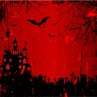 Grunge Halloween Background — Photo