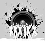 Grunge party background — Stock Photo #9357535