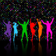 Royalty-Free Stock Photo: Party dancing