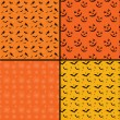 Seamless tile Halloween backgrounds — Foto Stock
