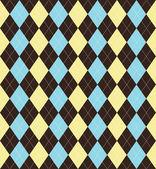 Argyle patterned background — Stock Photo