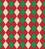 Christmas argyle pattern — Stock Photo