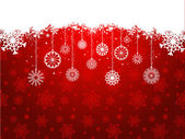 Christmas snowflake background — Stock Photo