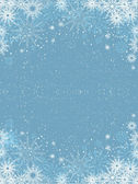 Christmas snowflakes — Stock Photo