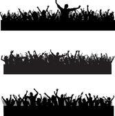 Crowd scenes — Stock Photo
