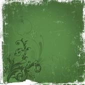 Floral grunge — Stockfoto