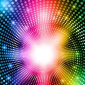 Rainbow abstract lights — Stock Photo