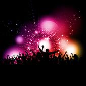 партии толпы — Стоковое фото