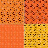 Seamless tile Halloween backgrounds — Stock Photo