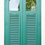 Thai old style window — Stock Photo