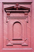 Wood molding on the entrance door of The Grand Palace,Thailand — Stock Photo