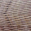Stock Photo: Thai handcraft of bamboo weave pattern