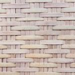 Thai handcraft of bamboo weave pattern — Stock Photo