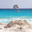 Cancun beach — Stock Photo