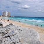 Cancun beach — Stock Photo #10353669