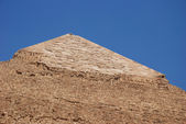 Topo of the Pyramid of giza — Stock Photo