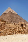 Top of the Pyramid of cheope — Stock Photo