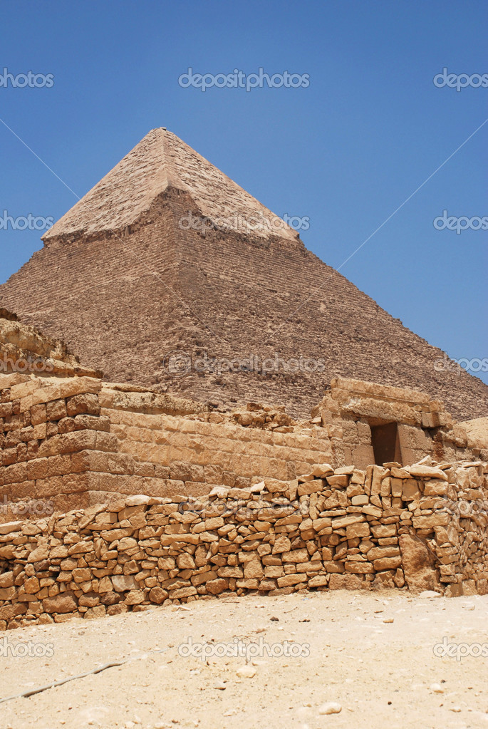 cheope 金字塔顶的