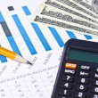 Business financial chart — Stock Photo #10616995