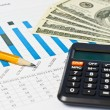 Stockfoto: Business financial chart