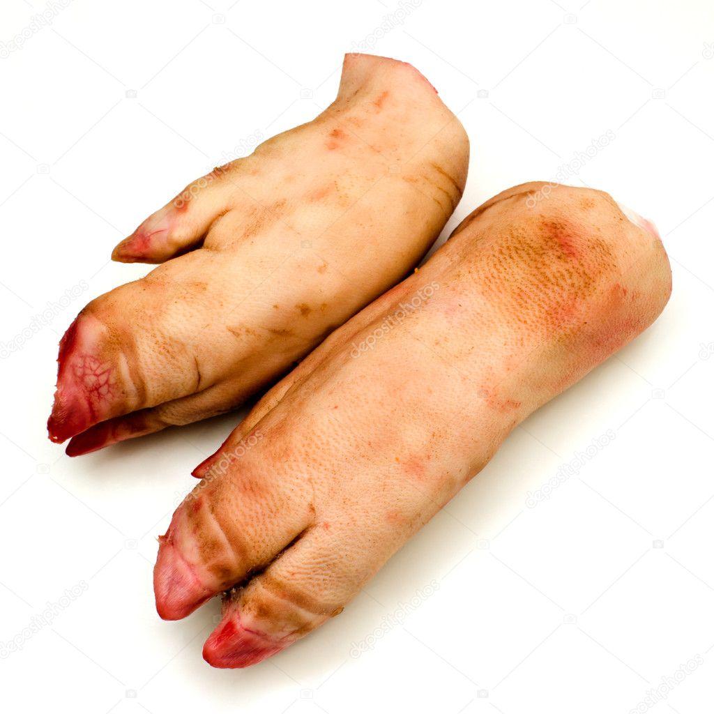 Two pork leg. — Stock Photo © yur1956 #10051710