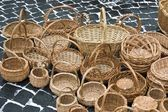 Woven baskets — Stock Photo