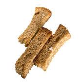 Crackers of rye bread. — Stock Photo