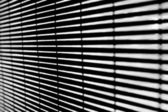 Black and white stright dark lines with blur effect — Stock Photo