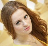 Ritratto di giovane donna — Foto Stock