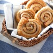 Cinnamon danish bun — Stock Photo #10191031