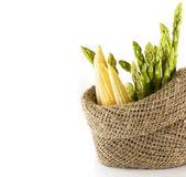 芦笋、 玉米 — 图库照片