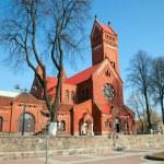 Catholic church of Saints Simon and Helena — Stock Photo