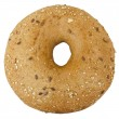 Bread. Bagel on the white background — Foto Stock